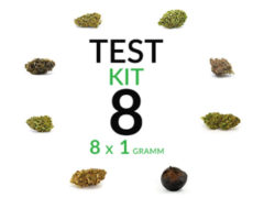 CBD Blüten Cannabis Marihuana 8 Sorten