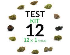 CBD Cannabis Blüten Kit 12 Sorten