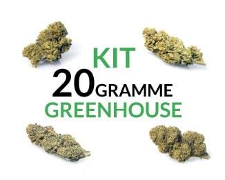 kit 20 gramme Greenhouse justbob.de