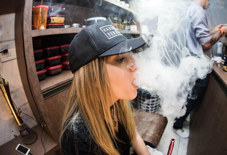 passiver Marihuana-Rauch