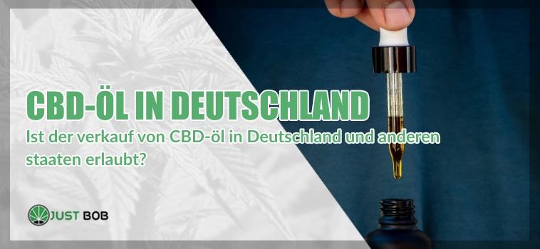 CBD Öl in Deutschland