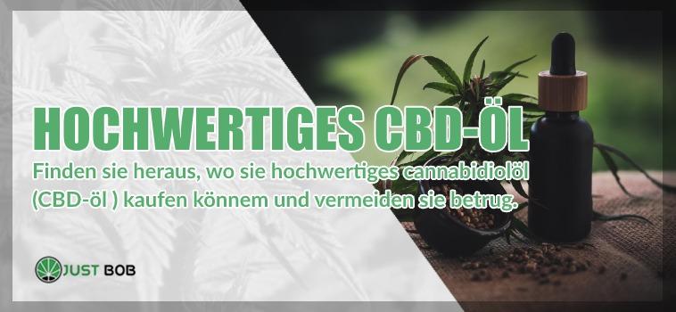hochwertiges CBD Öl