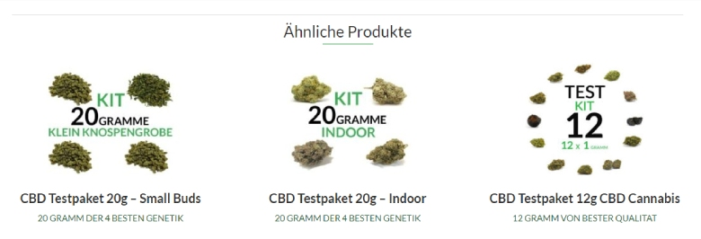 Justbob Trial Kit cannabis cbd