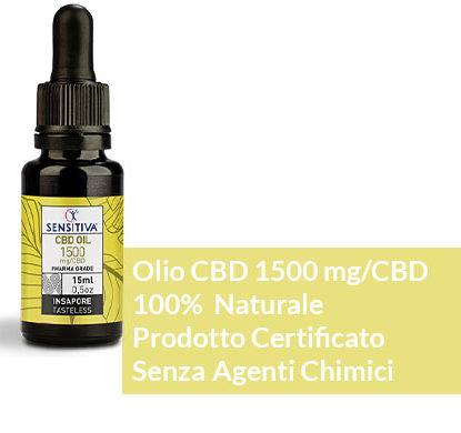 Beschreibung CBD Öl 15 ml 10% - Sensitiva