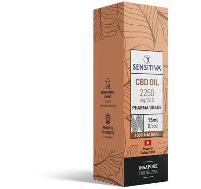 Paket CBD Öl 15 ml 15% - Sensitiva