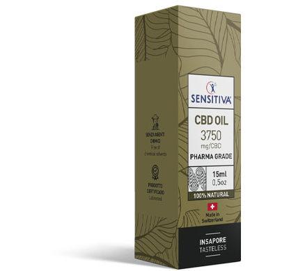 Paket CBD Öl 15 ml 25% - Sensitiva